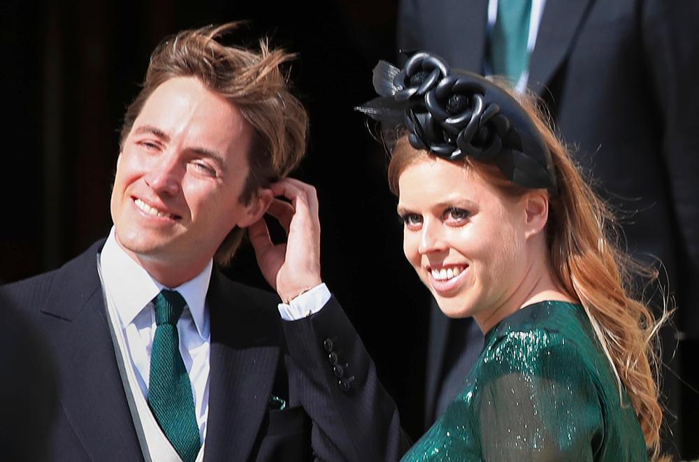 Prinsessan Beatrice och hennes man Edoardo Mapelli Mozzi