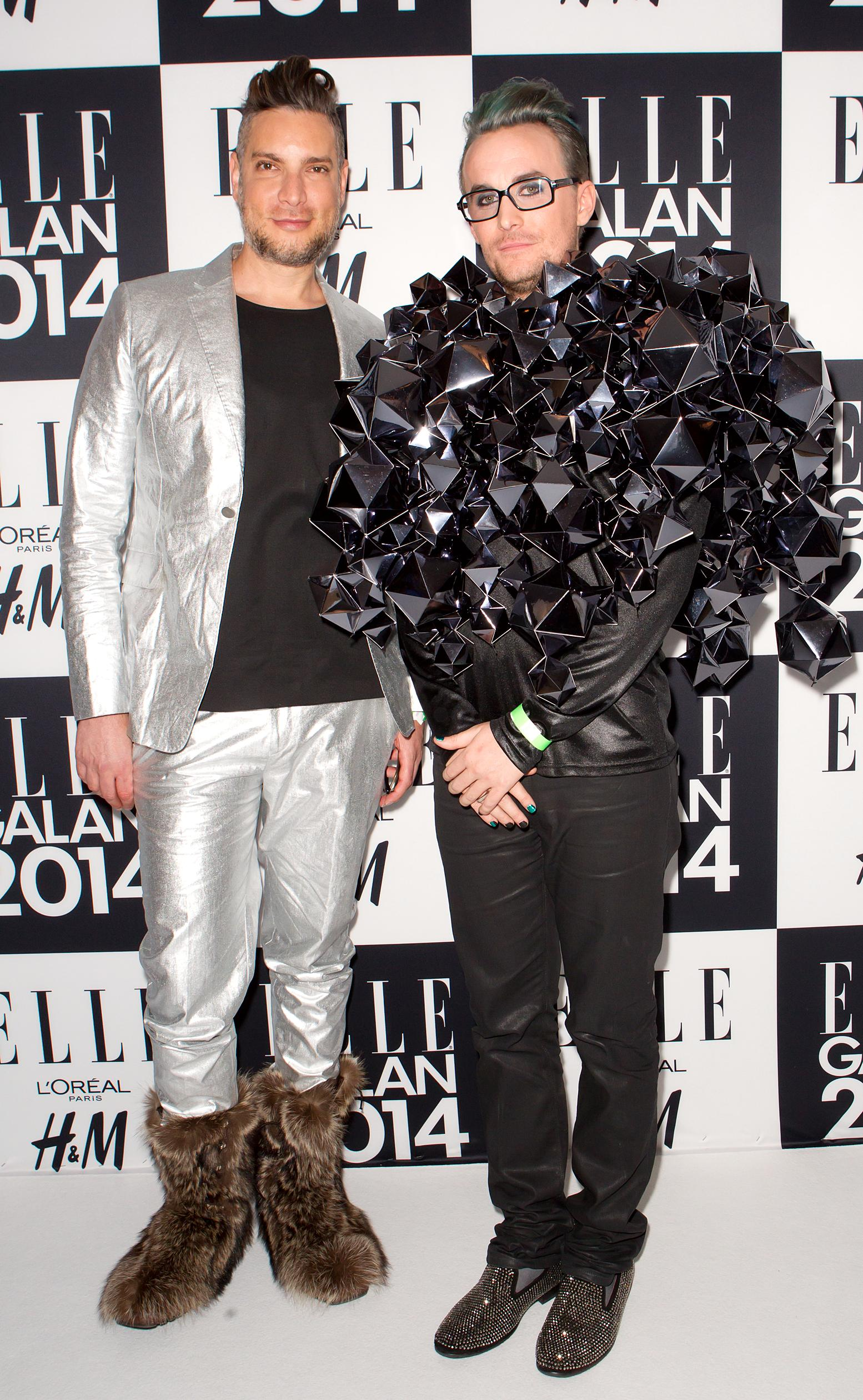 Fredrik och Cameron Silver på Elle-galen 2014.