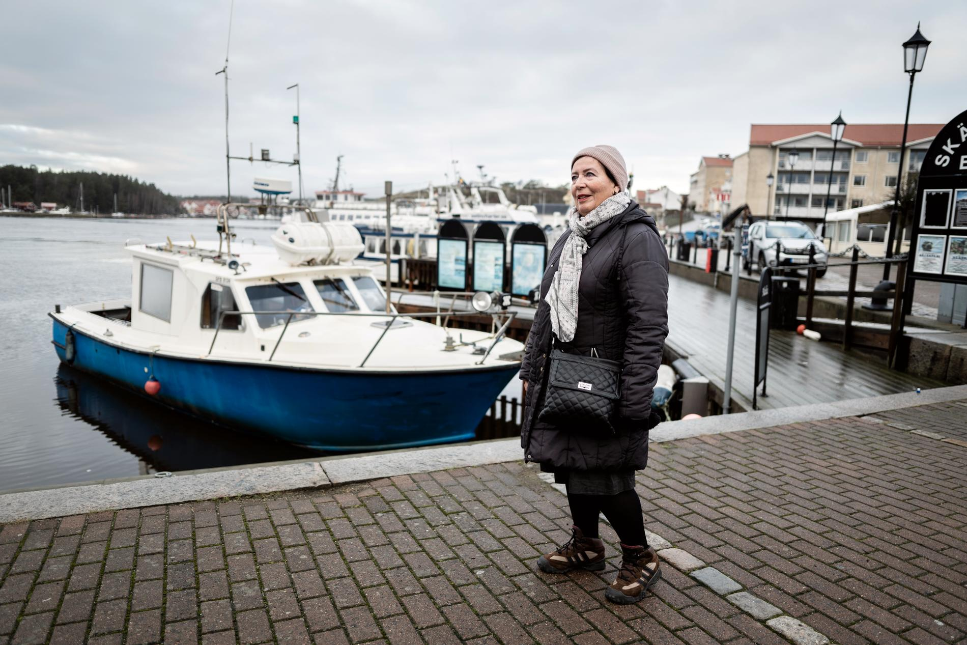 Oddny Lindholm, 72, flyttade till Strömstad från Norge för snart 20 år sedan. Hon hoppas att gränsen öppnar snart så att relationen med Norge kan fortsätta vara så fin som den alltid varit.