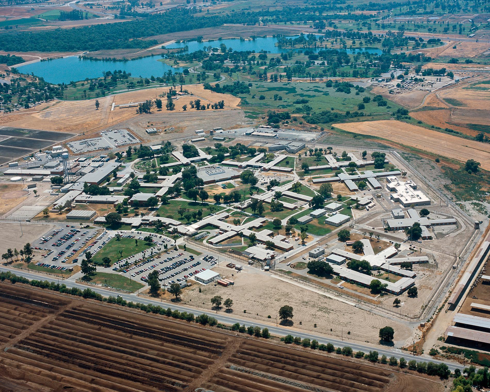 Fängelset California institution for women, där Annika Östberg avtjänade större delen av sitt straff.