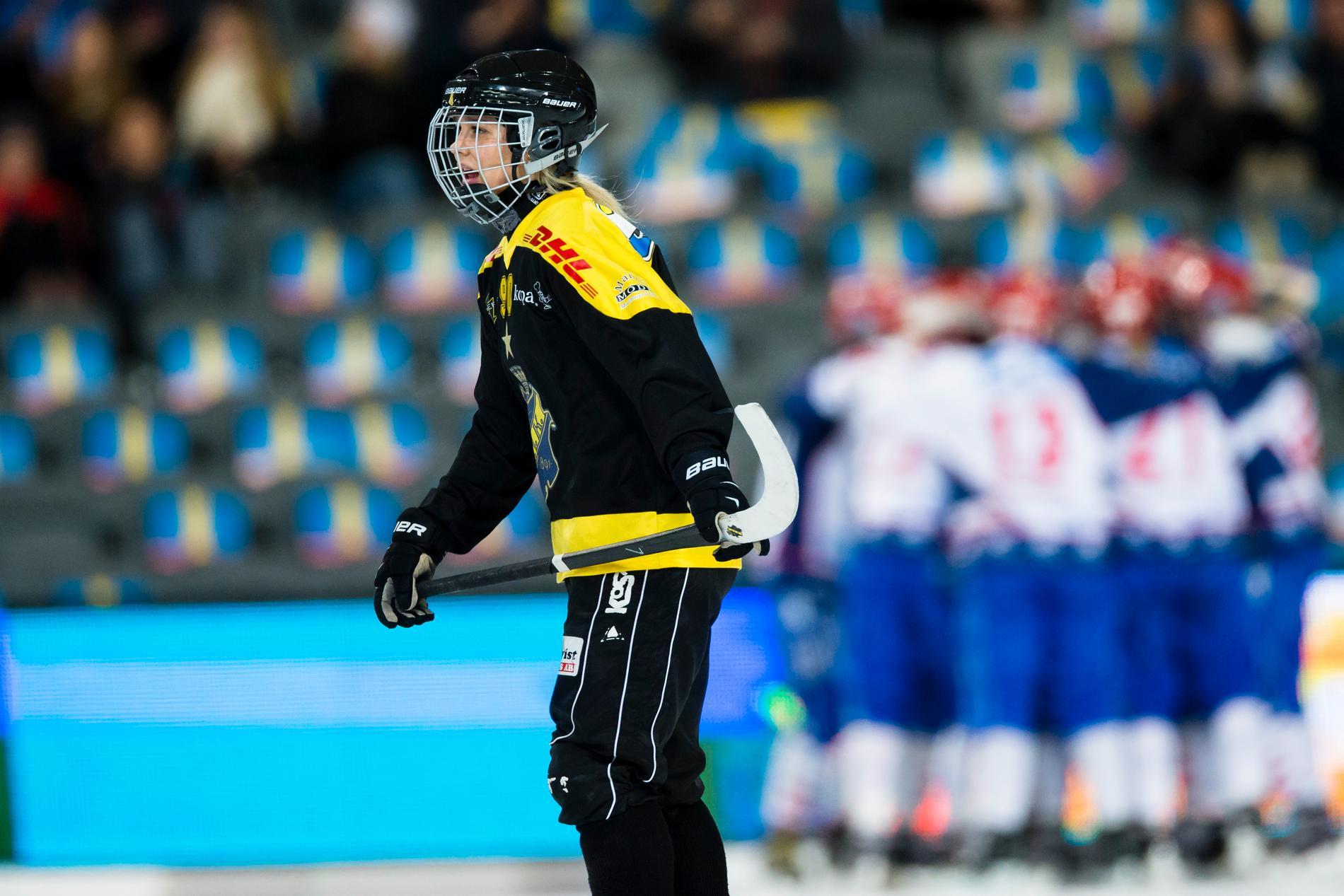 Linnéa Larsson blev tvåmålsskytt.