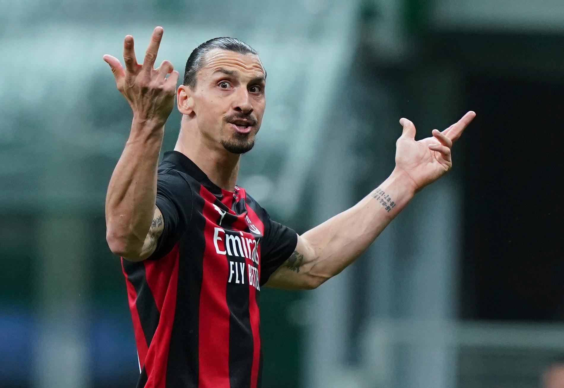 Zlatan Ibrahimovic kan inte spela mot Juventus. Arkivbild.