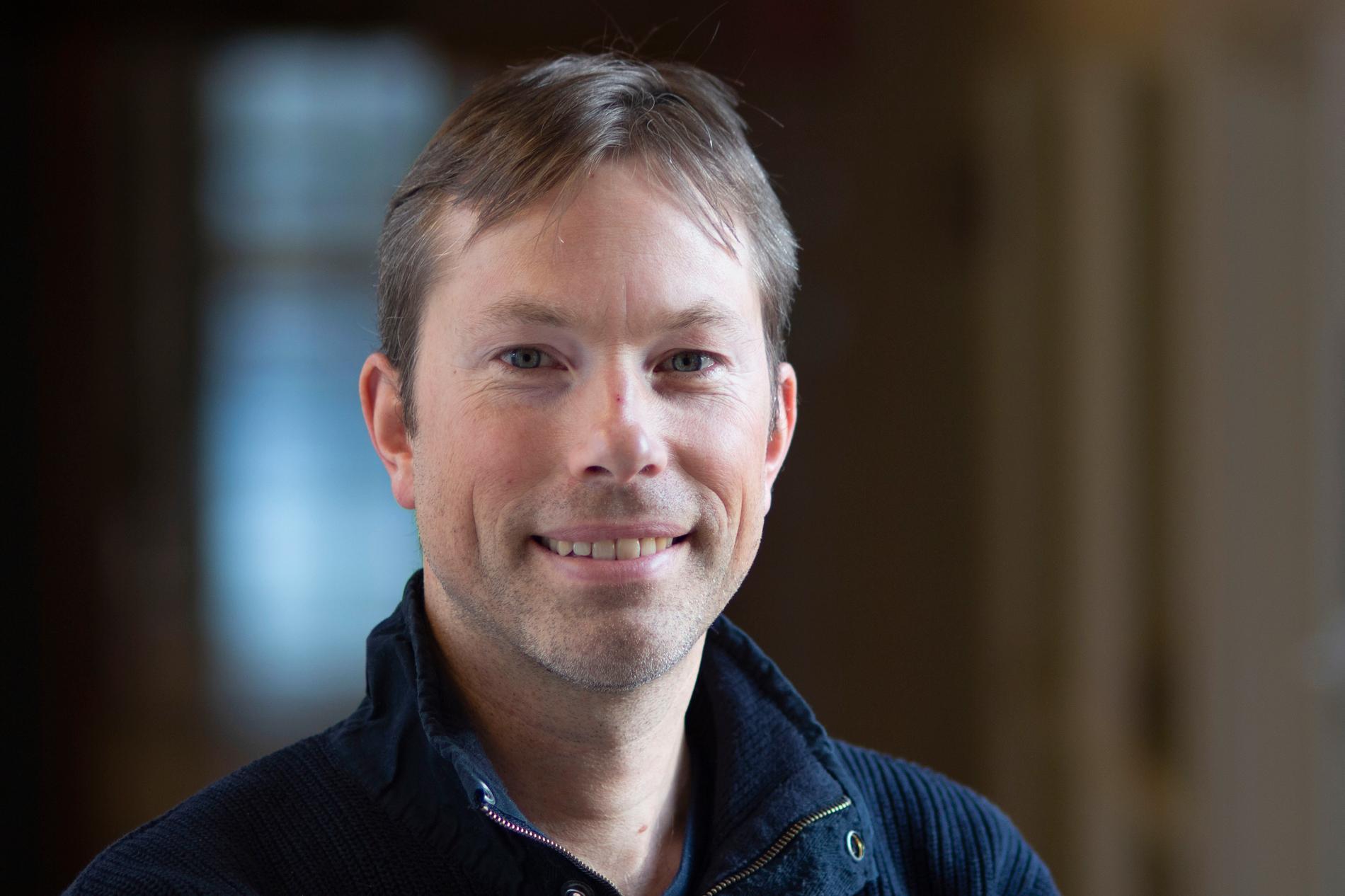 Torben Königk, meteorolog och klimatforskare vid SMHI.