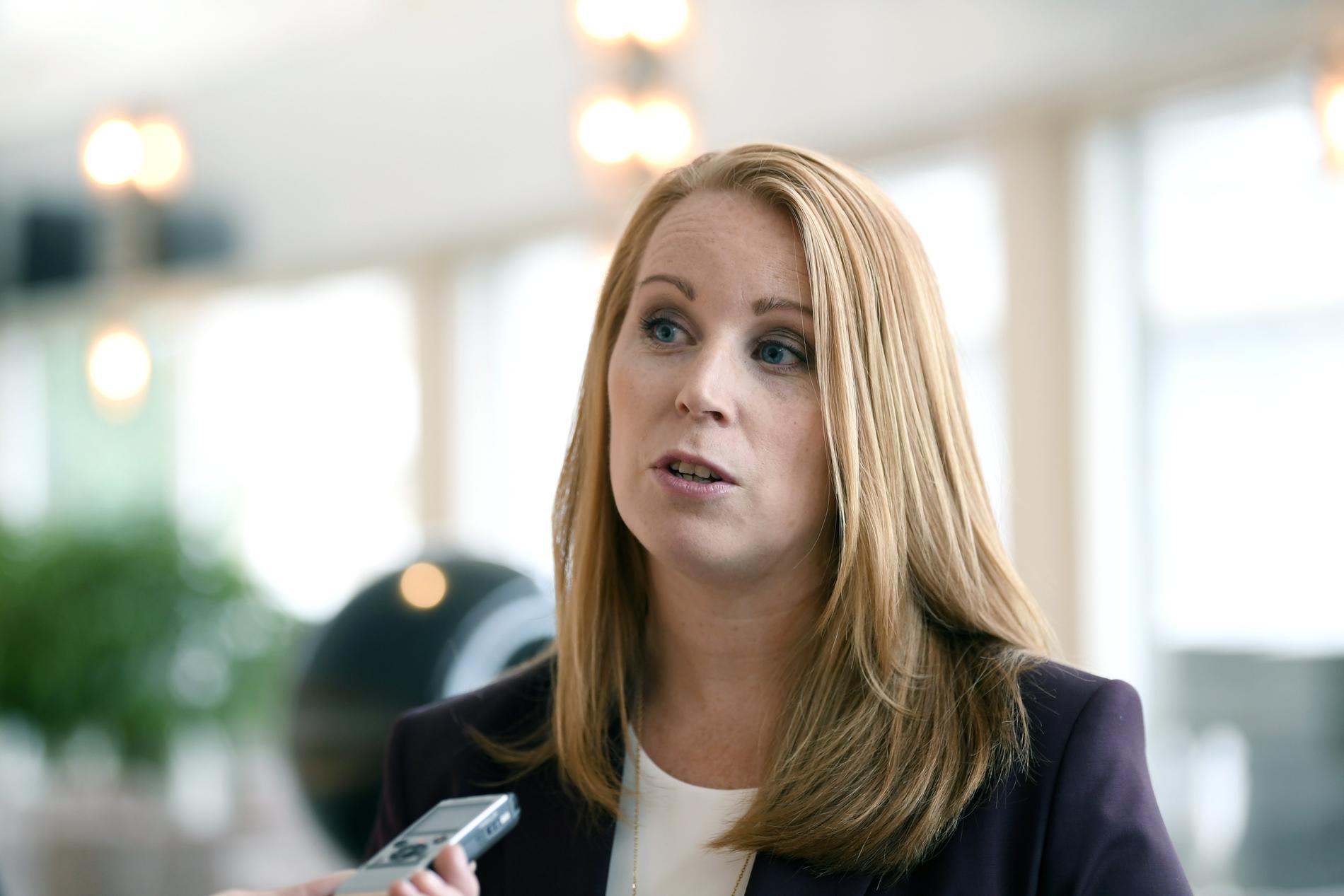 Centerpartiets partiledare Annie Lööf.