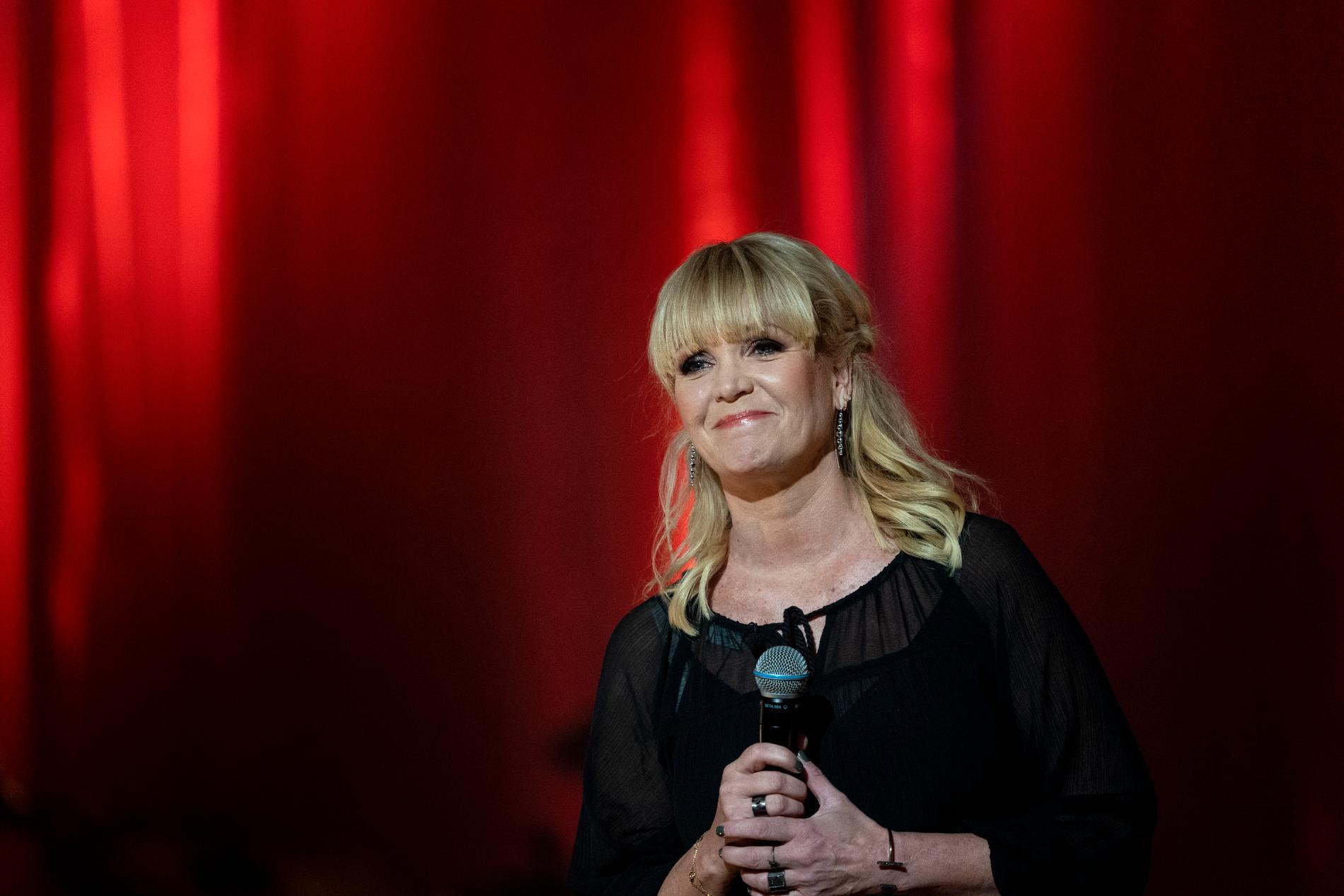 """Kattis Ahlström är programledare för """"Muren"""". Arkivbild."""