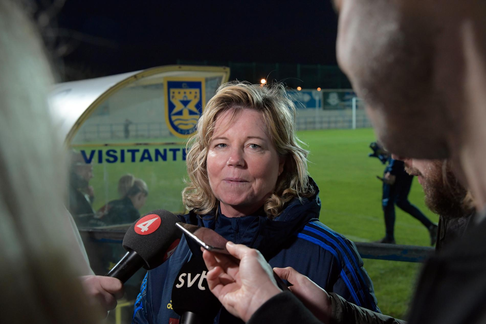Marika Domanski Lyfors, svensk landslagschef. Arkivbild.