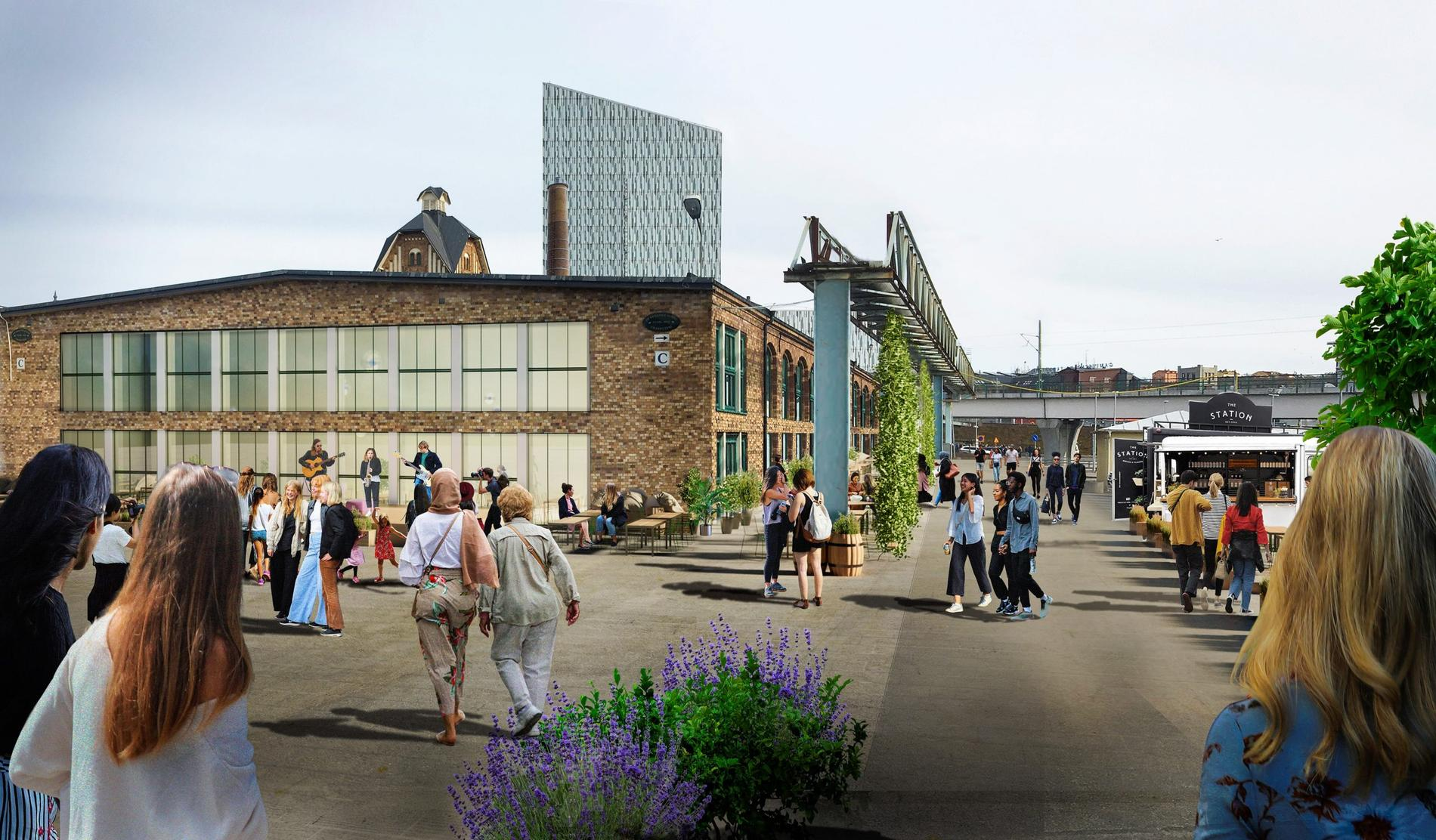 Slakthuset i Johanneshov i Stockholm.