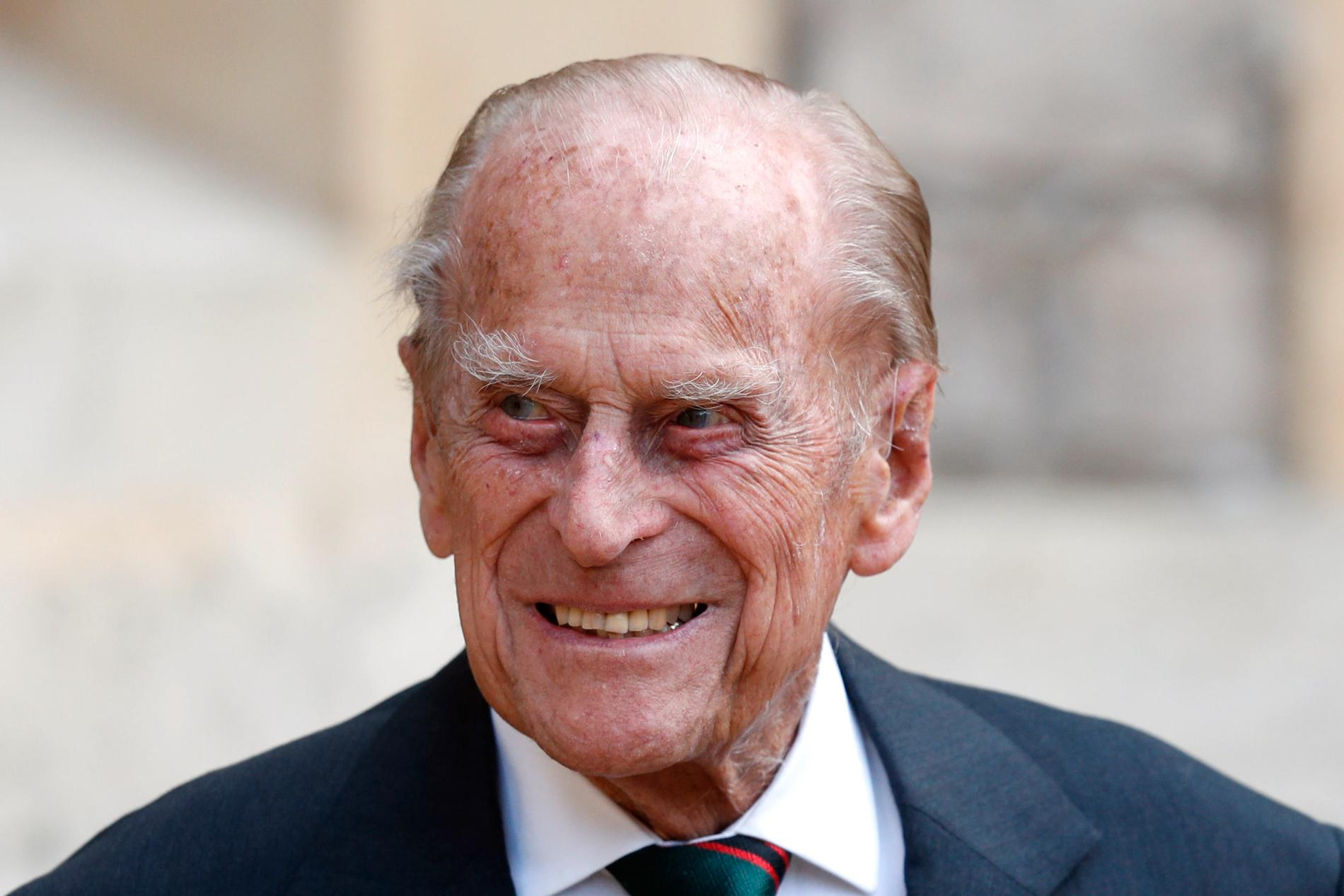 Storbritanniens prins Philip blir 100 år i juni.