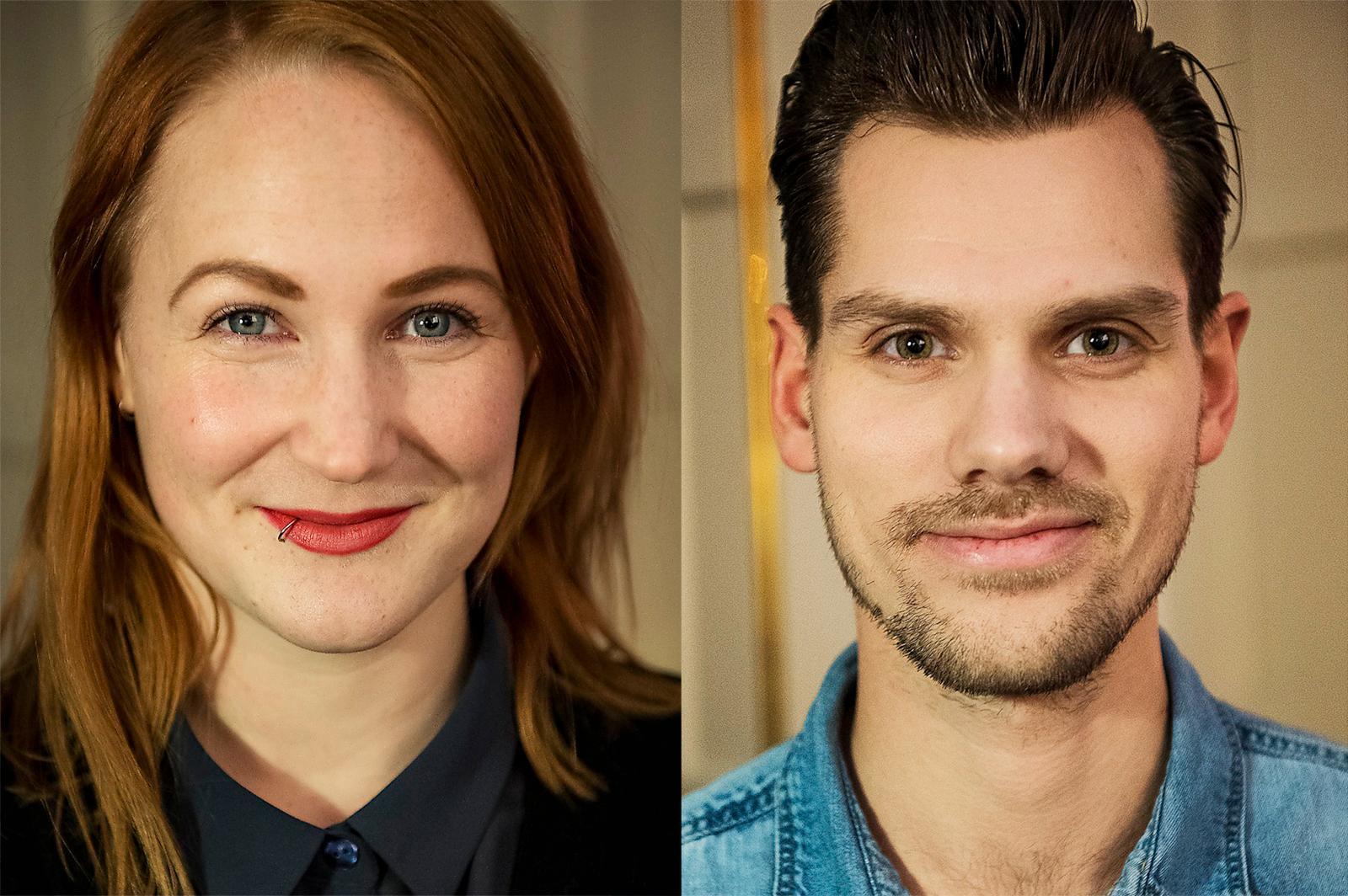 TOVE & PARTRIK Aftonbladets dejtingtestare Tove Björnlund, 28, och Patrik Järgården, 30.