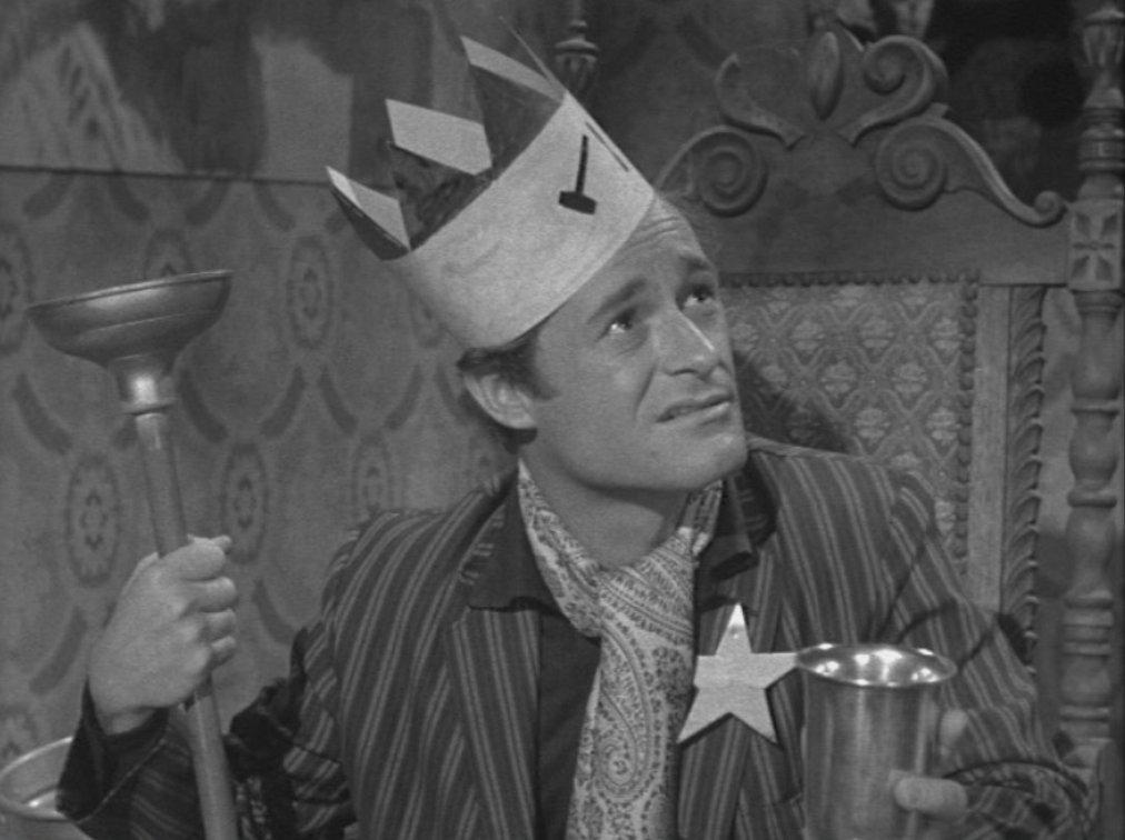 """Dick Miller i """"A bucket of blood"""" från 1959. Arkivbild."""