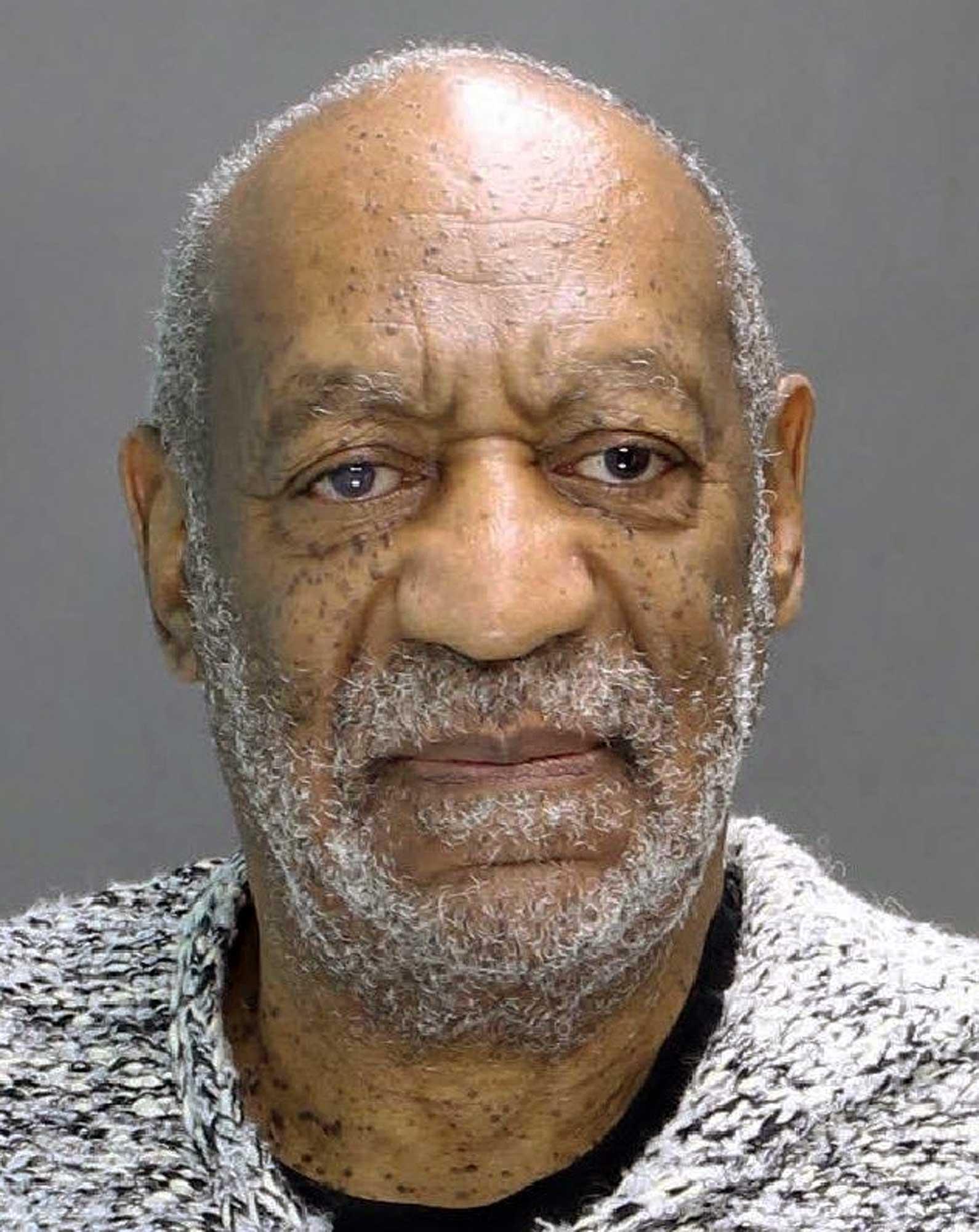 """""""Book him!"""" Här är polisens mugshot av Bill Cosby."""
