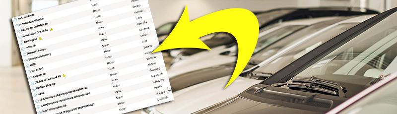 Svarta listan: Undvik de här bilhandlarna
