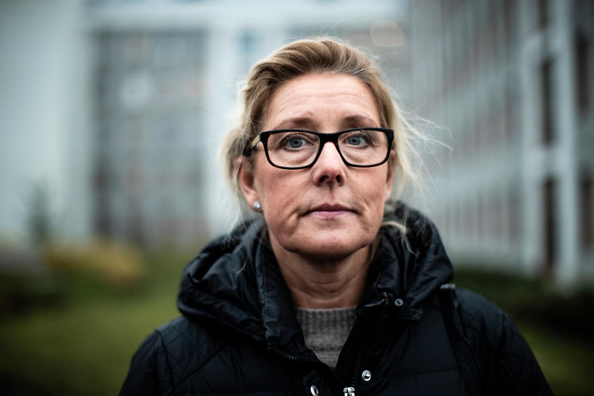 Christine Udding fick en chock av beskedet från Försäkringskassan om att hon blivit utförsäkrad.