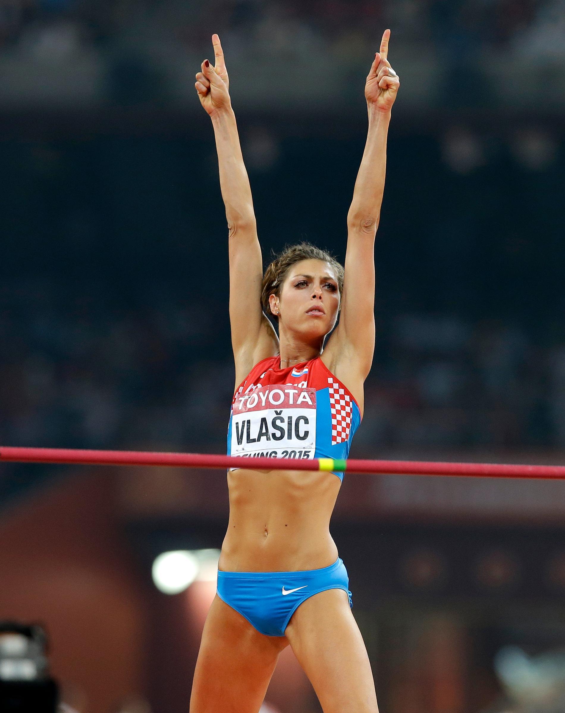 Höjdstjärnan Blanka Vlasic är storasyster till Nikola.