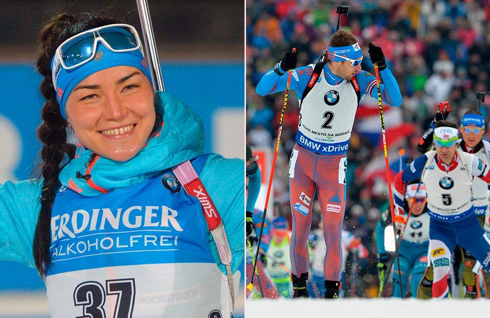 De ryska toppåkarna Tatiana Akimova och Anton Sjipulin får inte köra på hemmaplan.