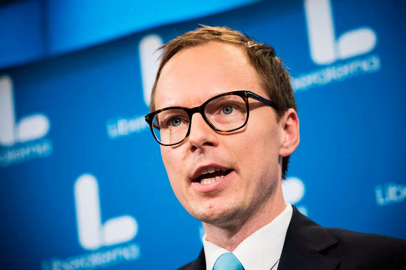 Mats Persson, Liberalernas ekonomiskpolitiska talesperson, vill slopa det skärpta amorteringskravet.