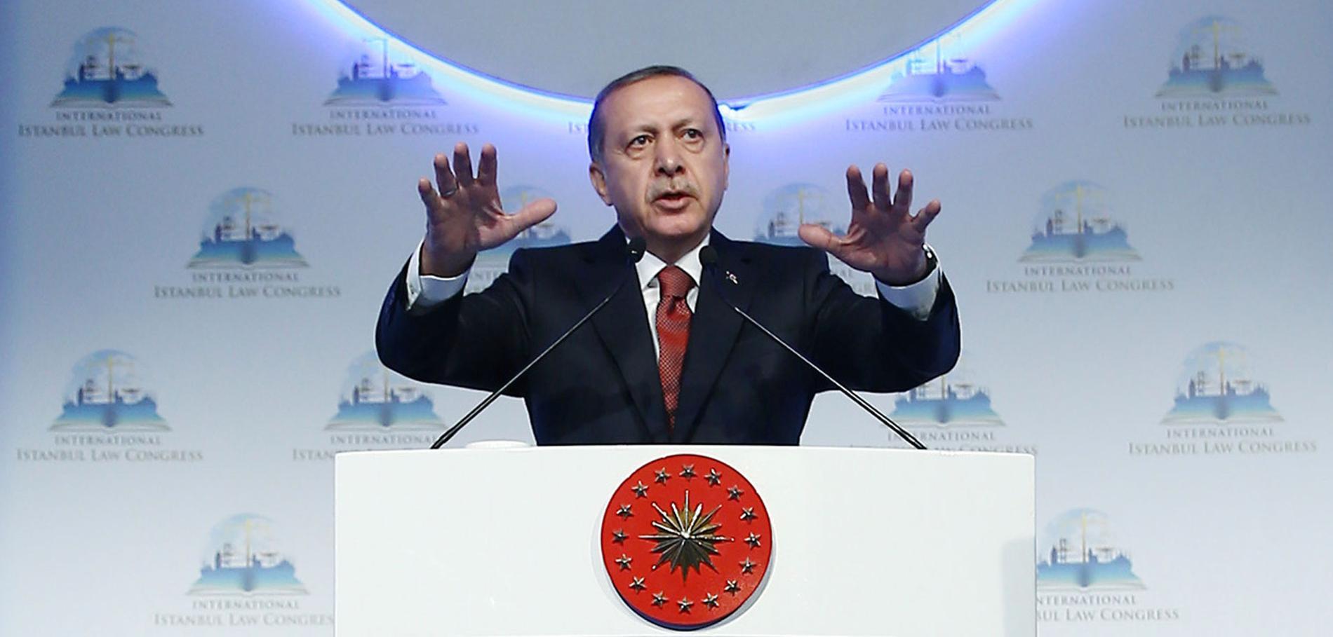 Turkiets president Recep Tayyip Erdogan