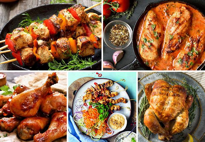 Kyckling, favorit som går att variera.