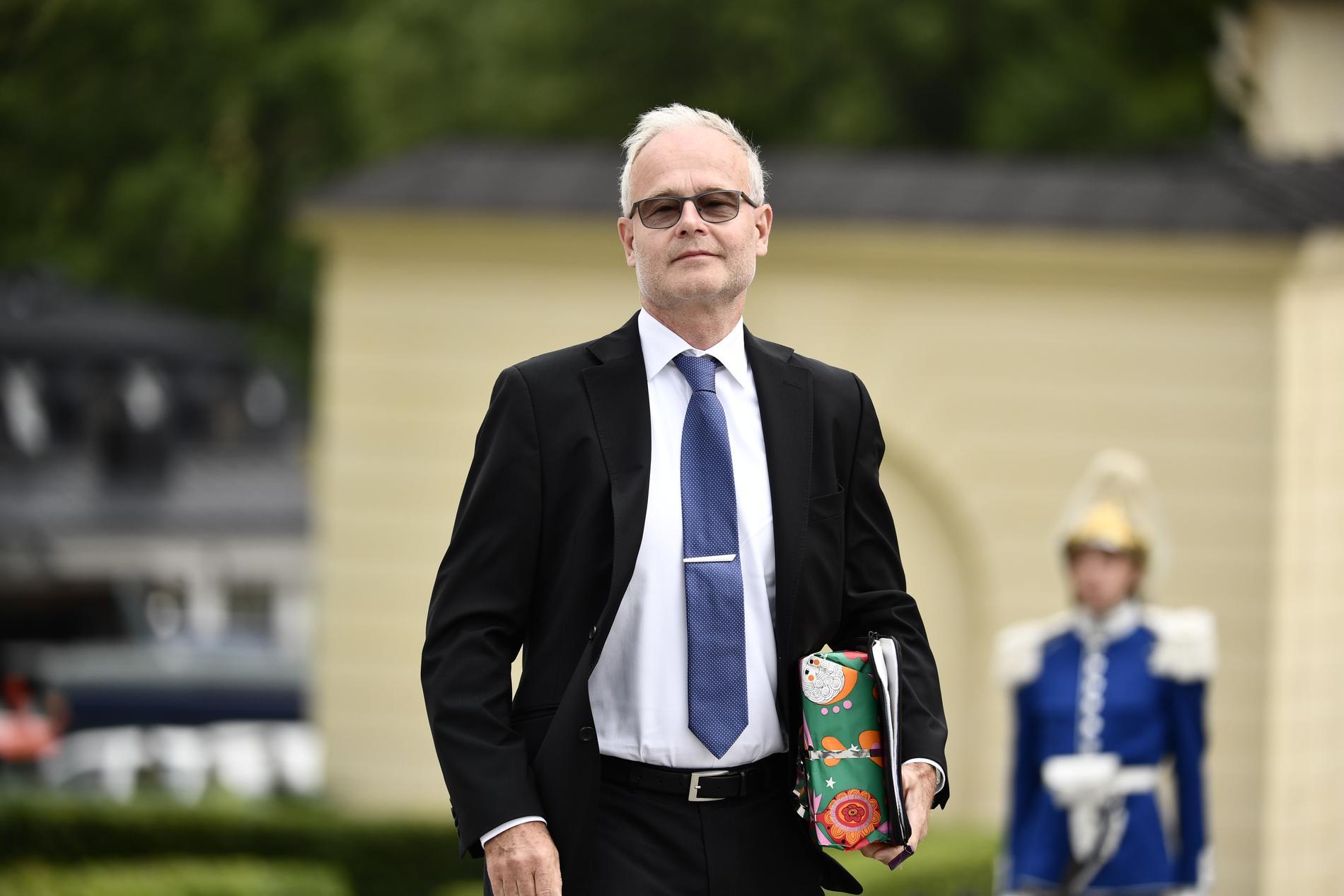 Överläkare Peter Conner.
