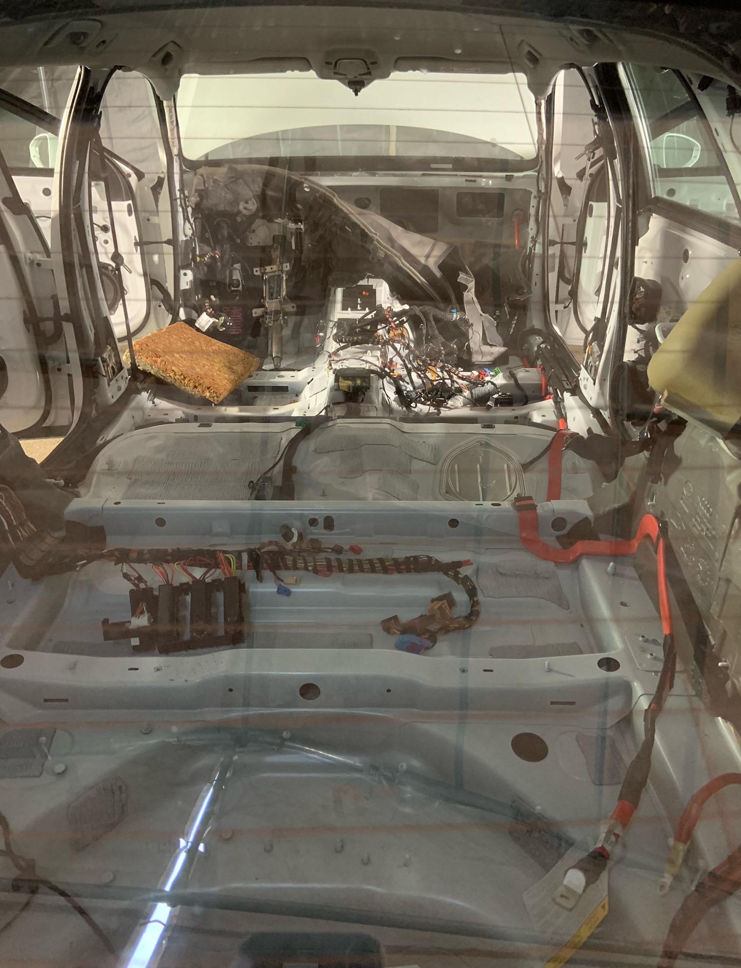 Audi A6:an inuti.