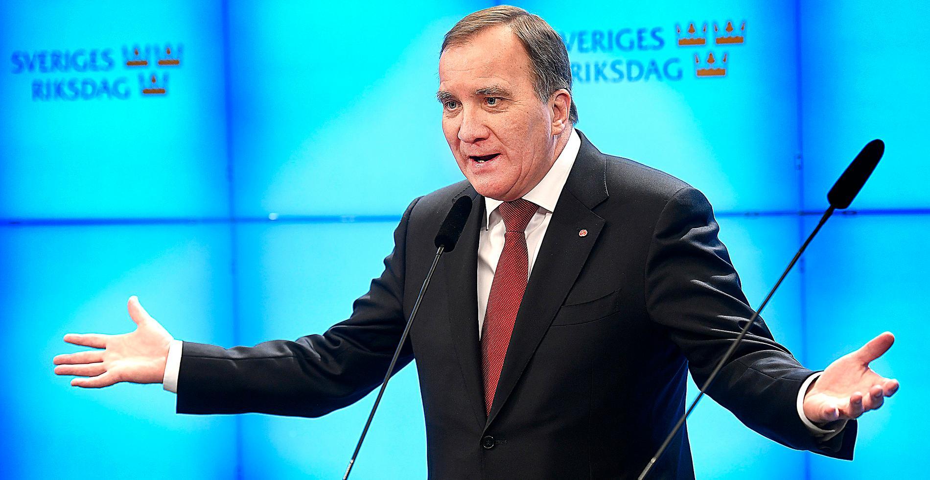 Stefan Löfven – fortfarande statsminister.