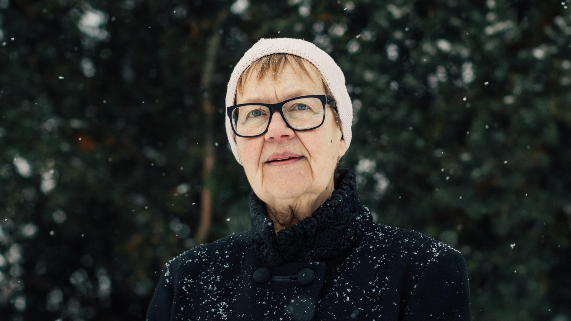 Poeten Tua Forsström (född 1947).