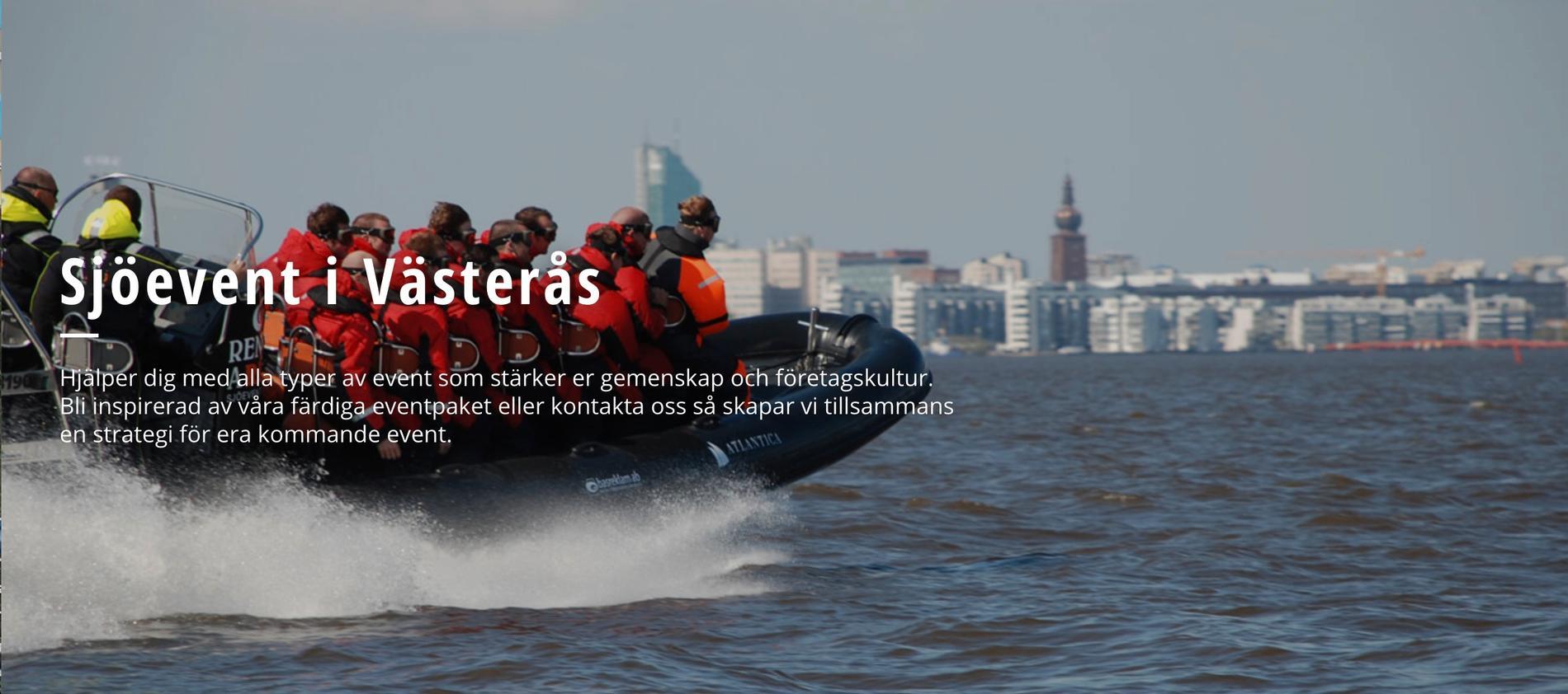 Sjöevent i Västerås säljer främst vattenaktiviteter –men driver också bland annat Hjulstabron utanför Västerås.