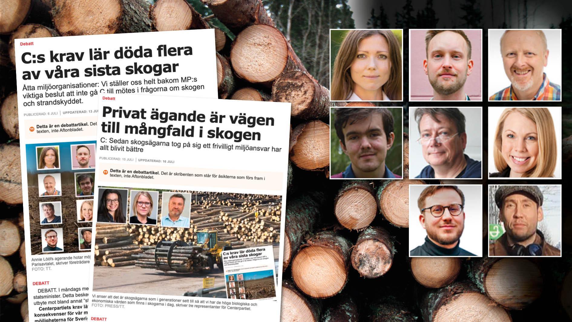 """Centerns påståenden om skogen är vilseledande. Naturvårdsverket fastslår att Sverige misslyckas med miljömålet """"Levande skogar"""" – och att trenden går åt fel håll. Slutreplik från åtta miljöorganisationer."""