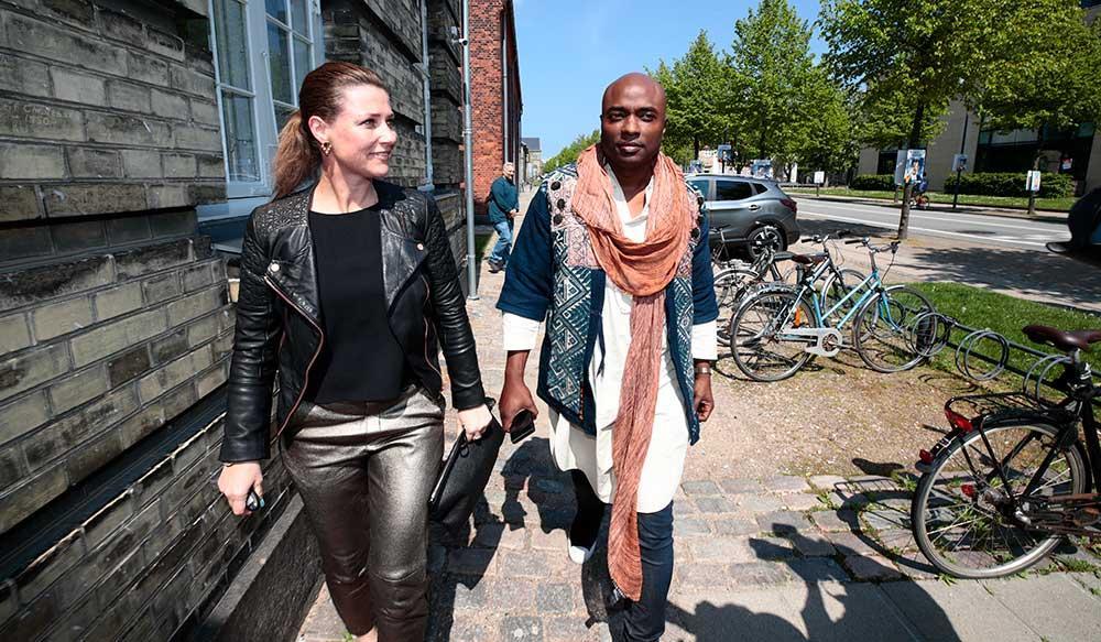 Prinsessan Märtha Louise och pojkvännen Durek Verrett.
