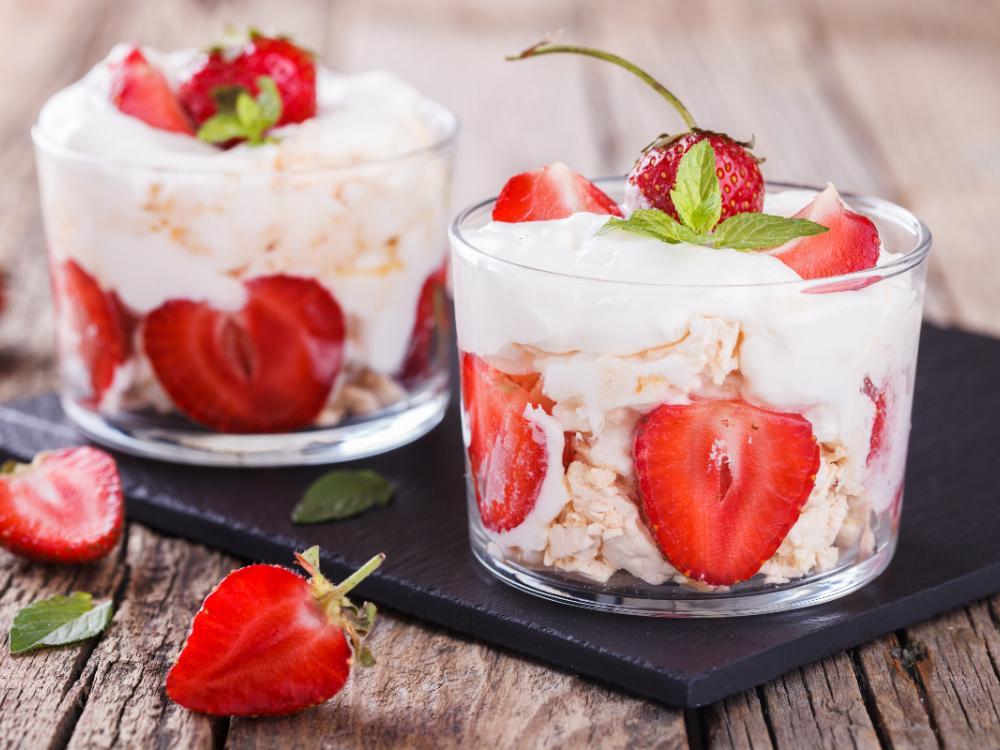 Eton mess – klassisk brittisk dessert med maränger