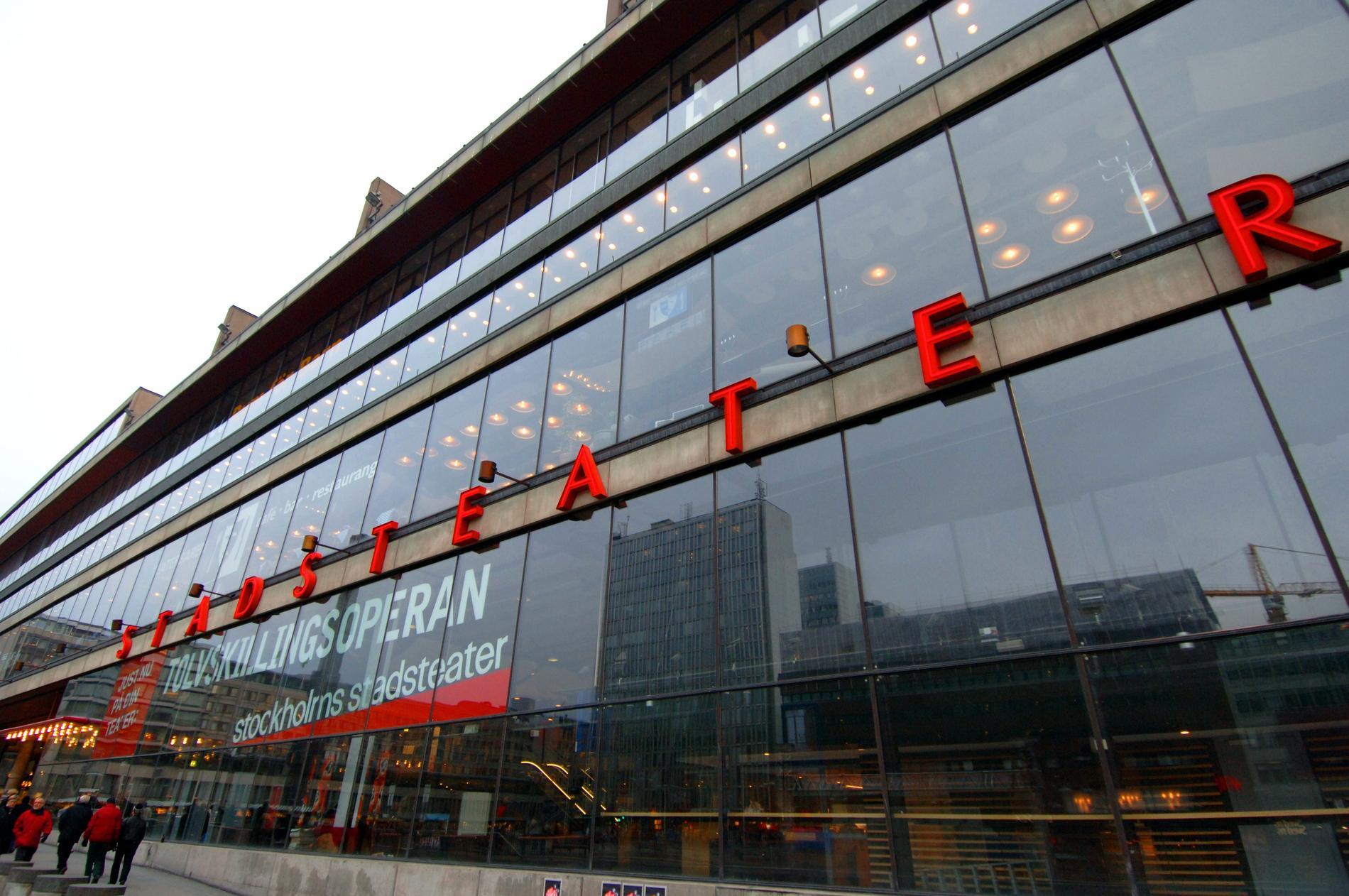 Kulturhuset Stadsteatern i Stockholm. Arkivbild.