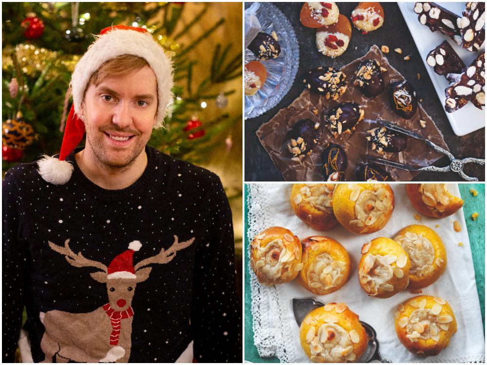 Baka veganskt till jul med Mattias Kristiansson.