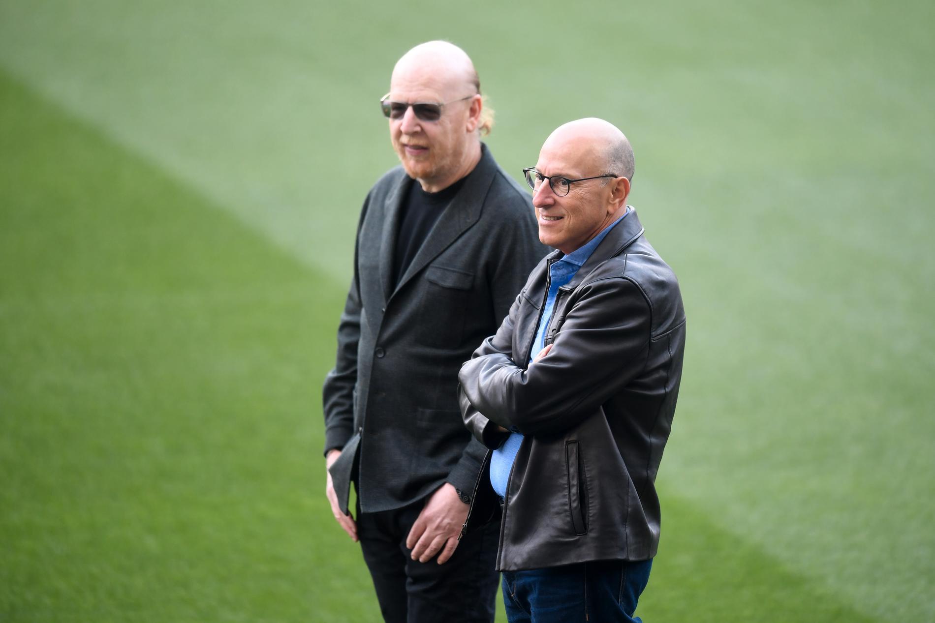 Avram och Joel Glazer.