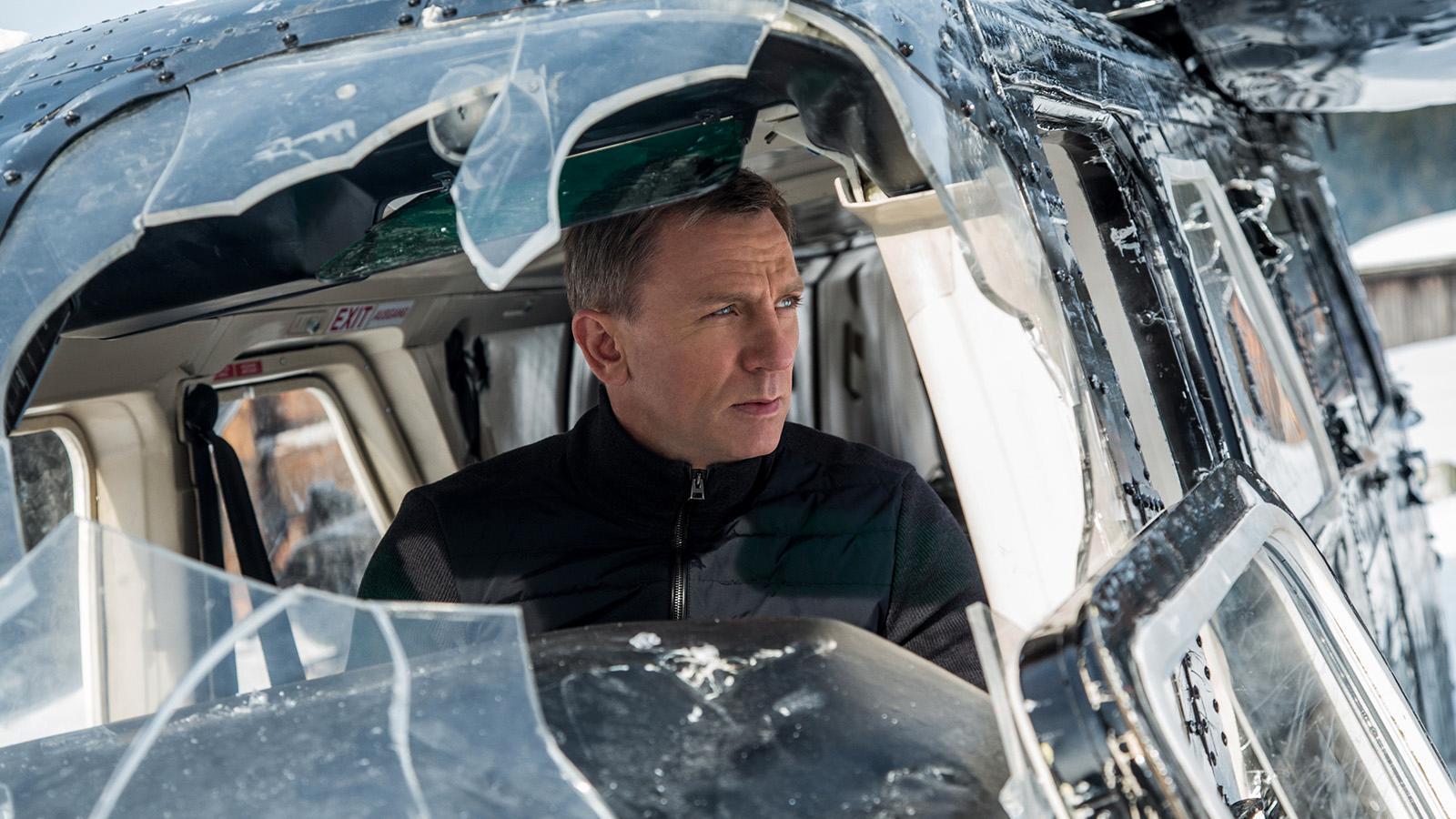 Daniel Craig gör sin femte och sista Bondfilm.