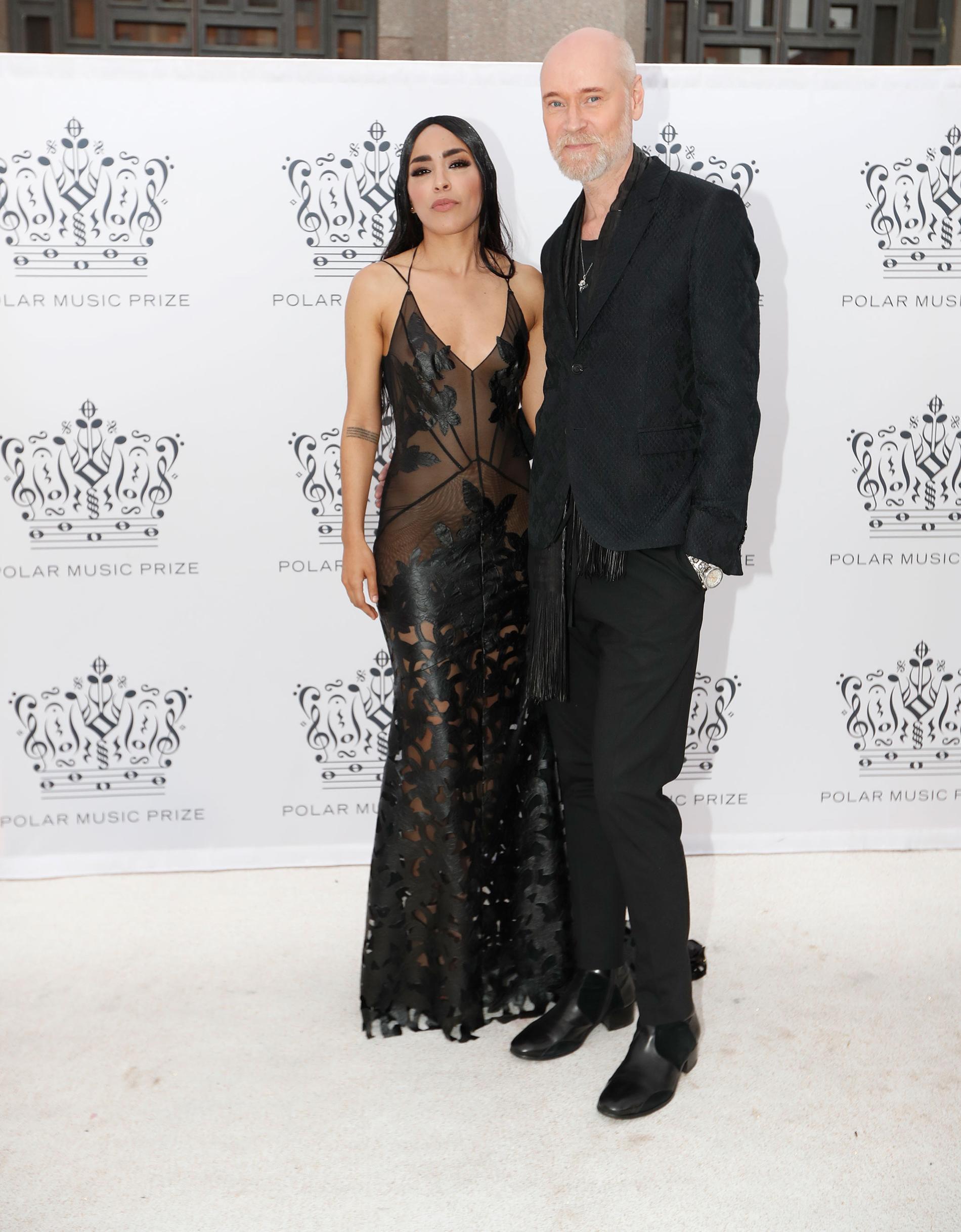 Loreen Talhaoui och Lars Wallin.
