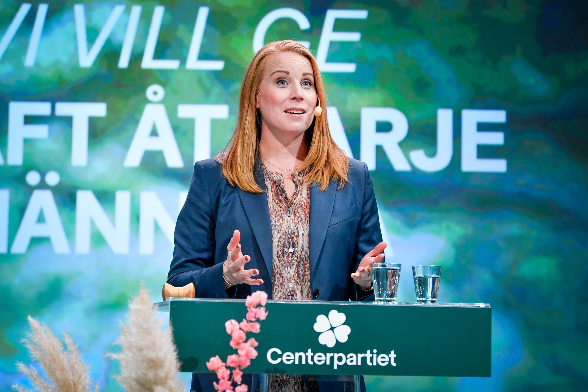 Partiledare Annie Lööf kunde konstatera att stämman inte bjöd på några allvarliga överraskningar när den avslutades.