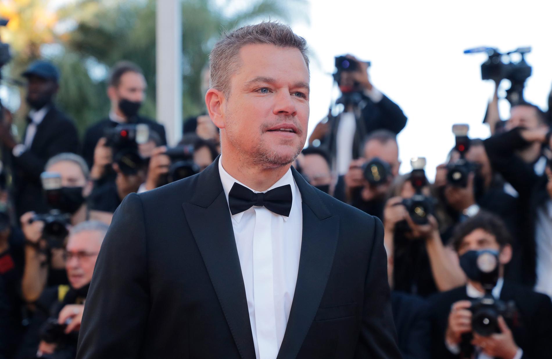 Matt Damon i Cannes.