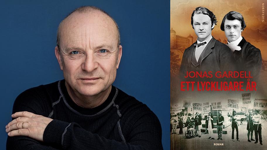 """Jonas Gardell utkommer med """"Ett lyckligare år"""", en roman om hbtq-kampens ursprung och start."""
