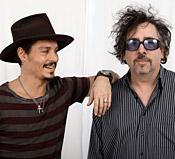 Burton och Johnny Depp har jobbat ihop i många år.