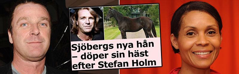 Patrik Sjöberg och Maria Akrakas delägda häst jagar seger på V75 i helgen.