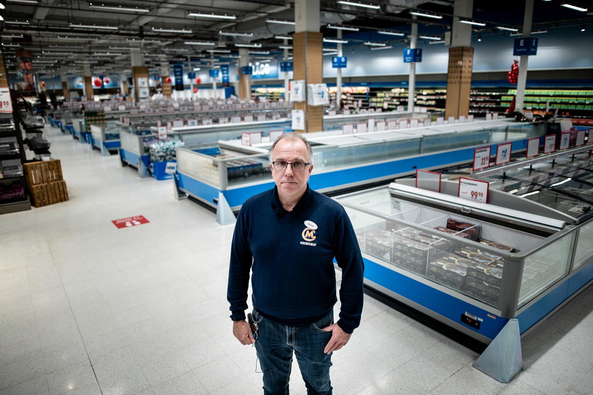 Göran Lundgren längtar efter de norska turisterna och hoppas att de snart ska kunna resa över till Sverige igen.