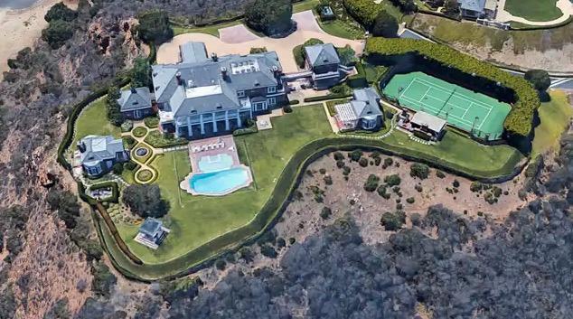 Wayne Gretzkys hem i Thousand Oaks, Kalifornien.
