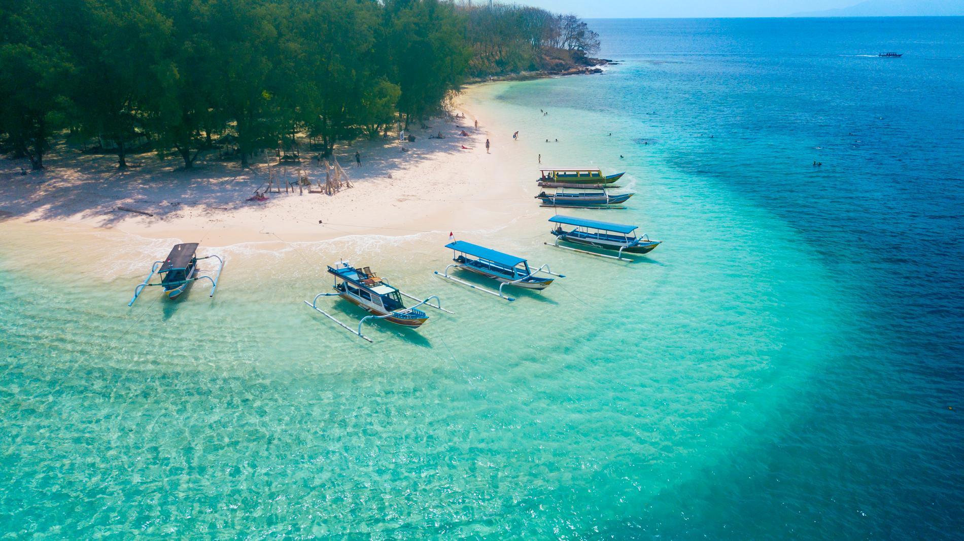 Gili Rengit är en av de mindre öarna som går att ta sig till från Bali.
