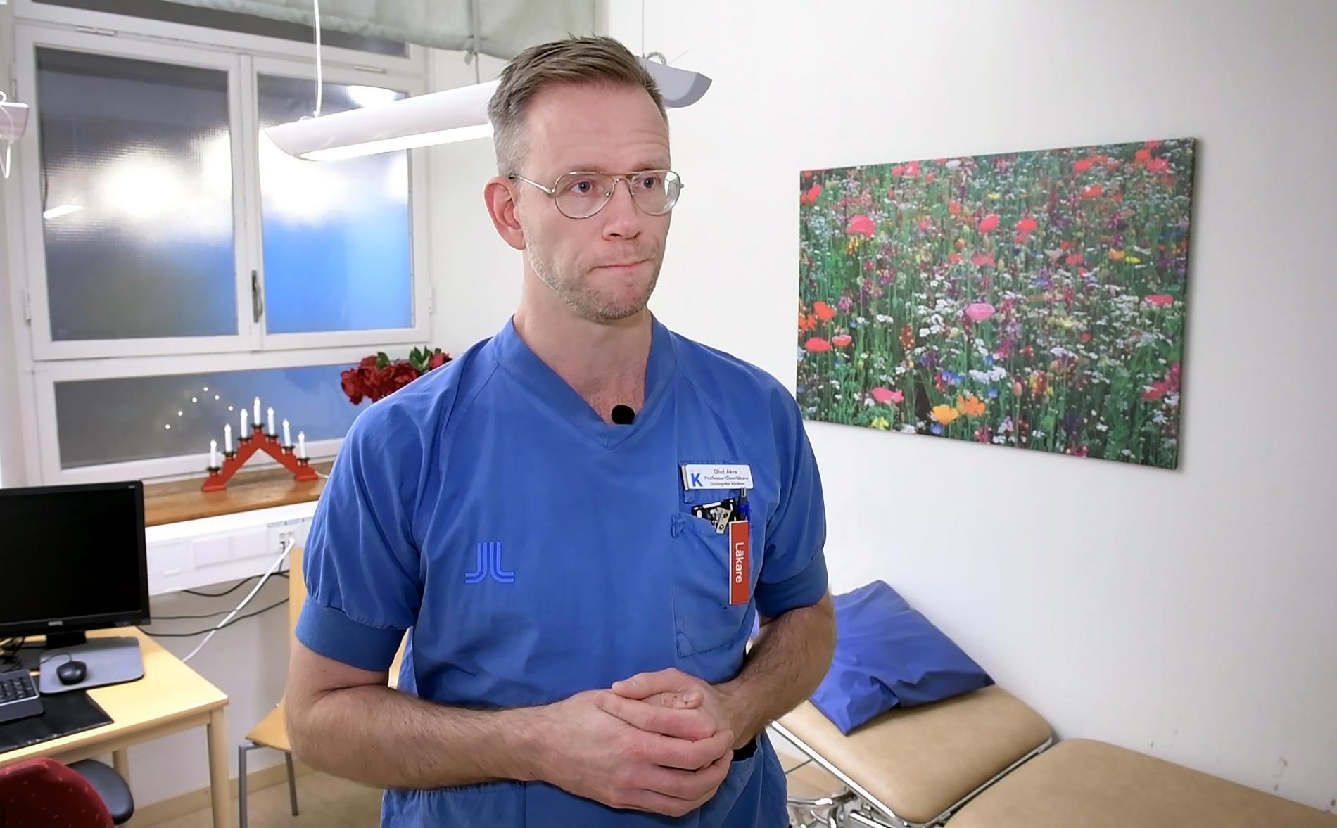 Olof Akre, professor i urologi.