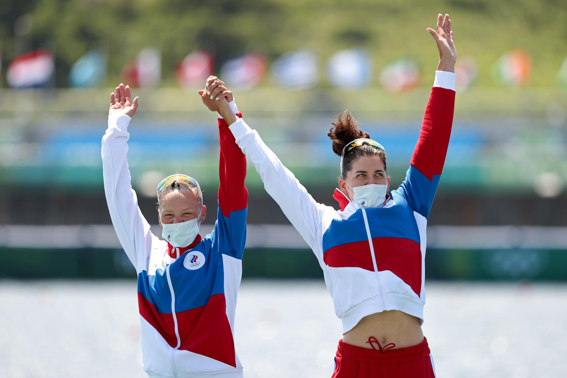 Vasilisa Stepanova och Jelena Orjabinskaja