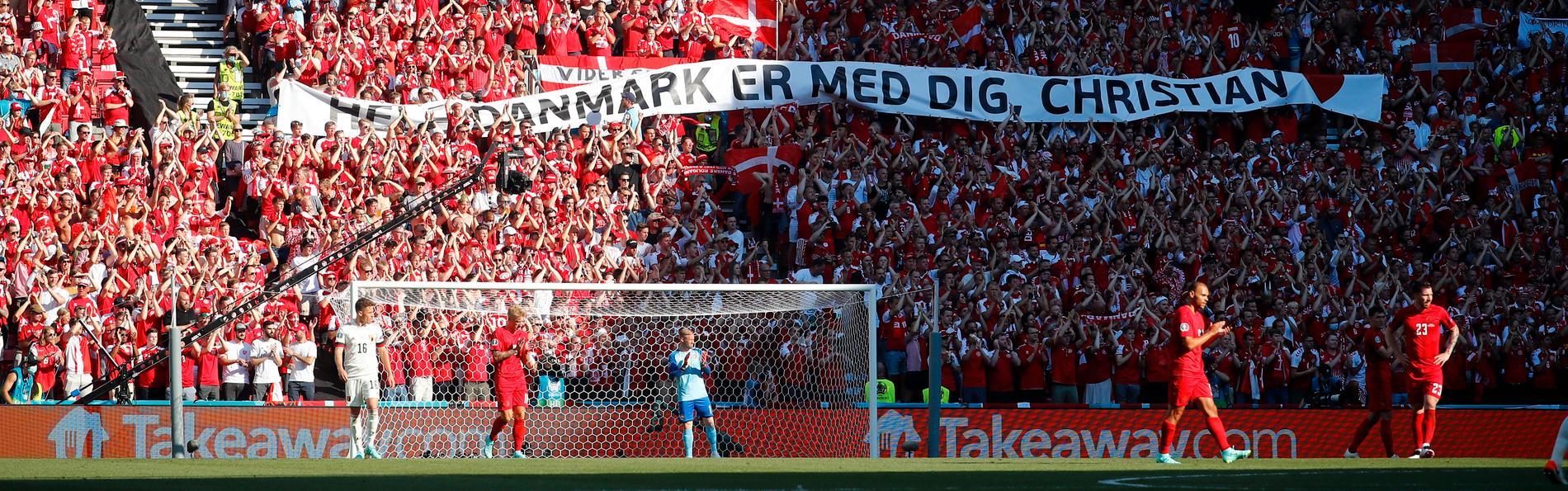 Publiken på Parken i Köpenhamn har gått igenom mycket under EM. Storstjärnan Christian Eriksens kollaps, en knapp förlust mot Belgien och en 4–1-kross över Ryssland.