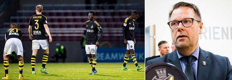 AIK:s vd Mikael Ahlerup.