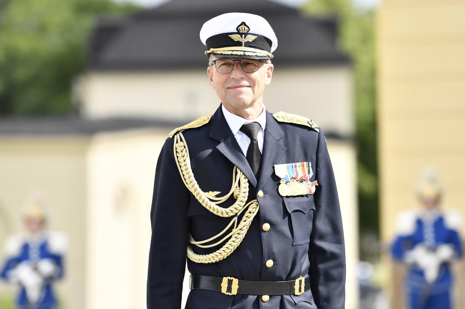 Stabschefen generallöjtnant Jan Salestrand.