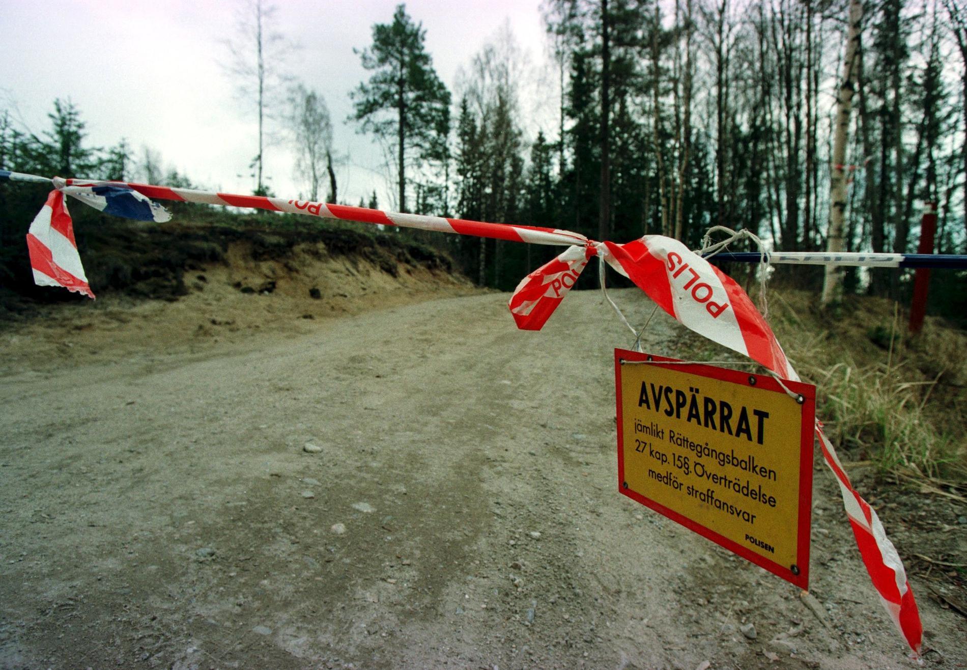 Malin Lindström hittades död i ett skogsparti i ett skogsparti utanför Husum.