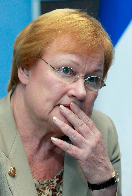 Finland ex-president Tarja Halonen.